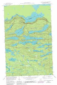 Boundary Waters Map Hungry Jack Lake Topographic Map Mn Usgs Topo Quad 48090a4