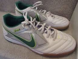 Nike Gato nike gato 5 five mens indoor soccer shoes white green 415122 137