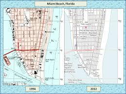 Miami Beach Map Miami Debunk House