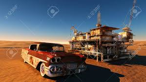 rusty car photography rusty car and station in the desert stock photo picture and