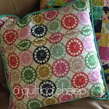 a quilting sheep quilted pillow covers