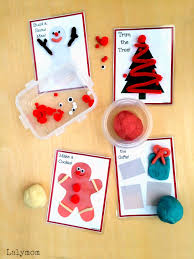 christmas activities for kids printable busy bag cards lalymom