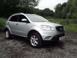 ssangyong used ssangyong korando ex for sale motors co uk