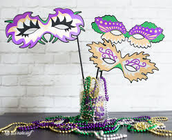 mardi gras photo booth mardi gras masks for costumes and photo booth props hey let s