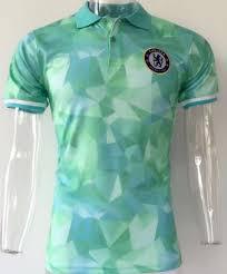 light green polo shirt chelsea 2017 18 season light green polo shirt chelsea 2017 18 season