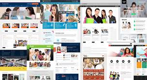 informational website templates 20 wix website templates that will turn the way you think of web