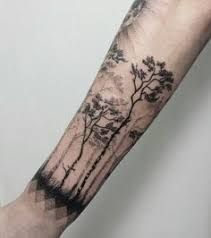 nature tree on arm e i could do this ideas