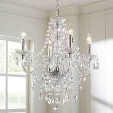 Crystal Light Fixtures Dining Room - chandeliers wayfair