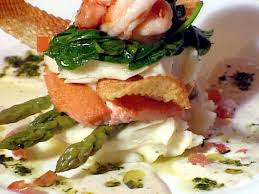 Beurre Blanc Sauce Recipe by Idaho Rainbow Trout And Prawn Napoleon With Lemon Shallot Beurre