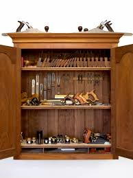 Wood Tool Storage Cabinets Build A Tool Cabinet Lonnie Bird