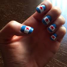 chicago flag nails race prep tradition for the chicago marathon