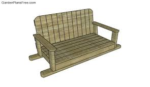 Swing Bench Plans Swing Bench Plans Free Garden Plans How To Build Garden Projects