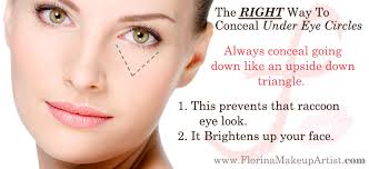 eyes cuteandlittle fashion makeup tutorial the right way to conceal dark circles how