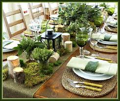 rustic dinner table settings rustic christmas tablesetting