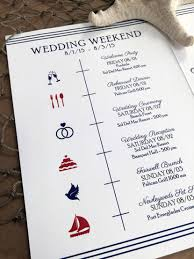 Wedding Itinerary For Guests Ways To Inform Your Wedding Guests
