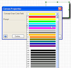 visio guy choose colors with shape data fields