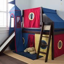 Boys Bunk Beds With Slide Bedroom Childrens Bunk Beds With Desk Space Saving Bunk Beds