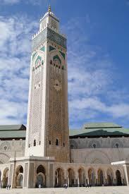 design masjid indah hassan ii mosque in casablanca morocco