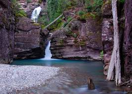 Colorado waterfalls images Waterfall in the south fork mineral creek near silverton jpg