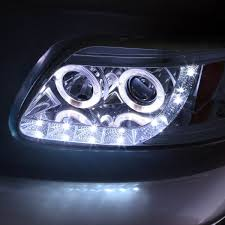 Led Strip Lights Automotive by 03 Ford F150 Expedition Angel Eye Led Strip Projector Headlights