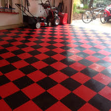 amazon com speedway garage tile interlocking garage flooring 6 view larger