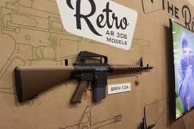 Chamber Flag Brownells Introduces New Line Of Retro Ar 15 U0027s And Ar 10 U0027s At Shot