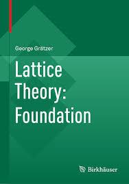 lattice theory foundation