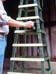 make an obelisk for climbing plants hgtv