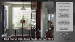 14641 carmel ridge road san diego ca 92128 youtube
