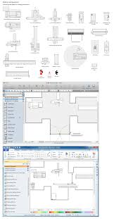 Home Plan Design Software For Mac Building Drawing Tools Design Element U2014 Machines And Equipment