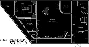 recording studio floor plan studio a floor plans fat studio pinterest architecture layout
