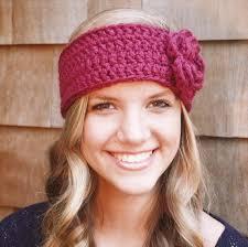 crocheted headbands 15 easy crochet headband with flowers diy to make