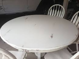 Best DIY Table Images On Pinterest Dining Room Tables - Distressed white kitchen table