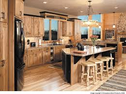 knotty hickory cabinets kitchen rustic hickory cabinets kitchen traditional with amber cabinet