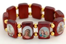 saints bracelet saints stretch bracelet the paraclete catholic bookstore
