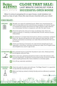house checklist close that sale your last minute open house checklist rismedia