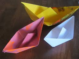 how to make a paper boat youtube