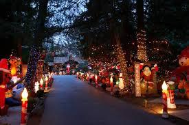 santa rosa christmas lights santa rosa man creates holiday forest of christmas inflatables
