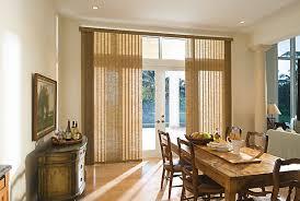 Patio Door Valance Ideas Patio Door Window Treatment Ideas Featuring Vertical Blinds Be Home