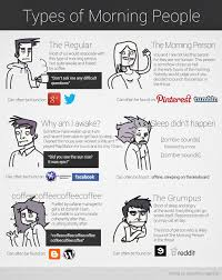 Morning People Meme - types of morning people i m the morning person everyone hates lol