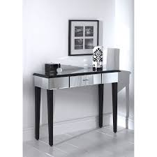 Living Room Console Table Living Room Deco Furniture Ideas With Romano Mirrored Console