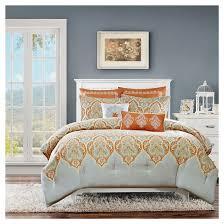 Burnt Orange Comforter King Burnt Orange Comforter Sets Target