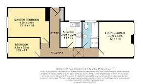 Maisonette Floor Plan 2 Bedroom Apartment For Sale In 70 72 Mayfield Road Sutton Sm2 5dt