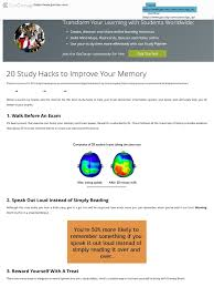 20 study hacks to improve your memory examtime memory meditation