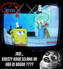 Meme Spongebob Indonesia - konyol abis 10 meme spongebob ini bikin ngakak guling guling up