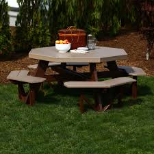 interior design luxcraft poly octagon picnic table swingsets