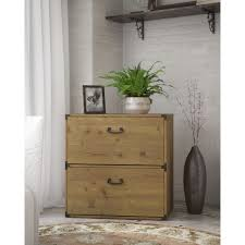 industrial lateral file cabinet kathy ireland office ironworks vintage golden pine green lateral