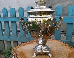 antique pot metal ls electric tea pot etsy