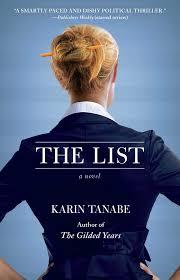 the list a novel karin tanabe 9781451695595 amazon com books