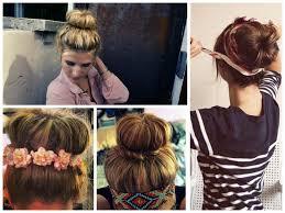sock hair bun bun hairstyles for hair